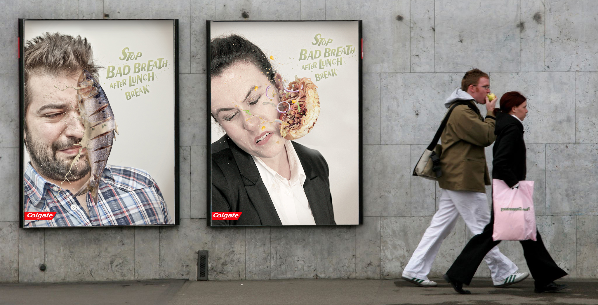 campagne colgate lunch