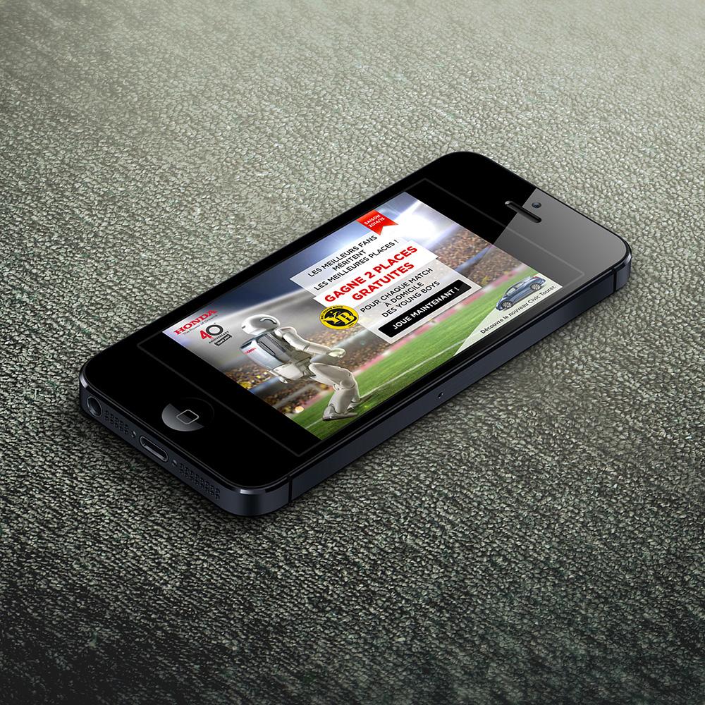 Honda YB application home