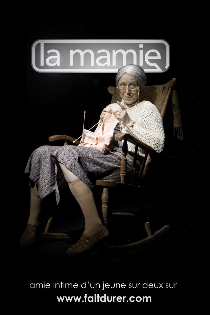 campagne durex grand-mère