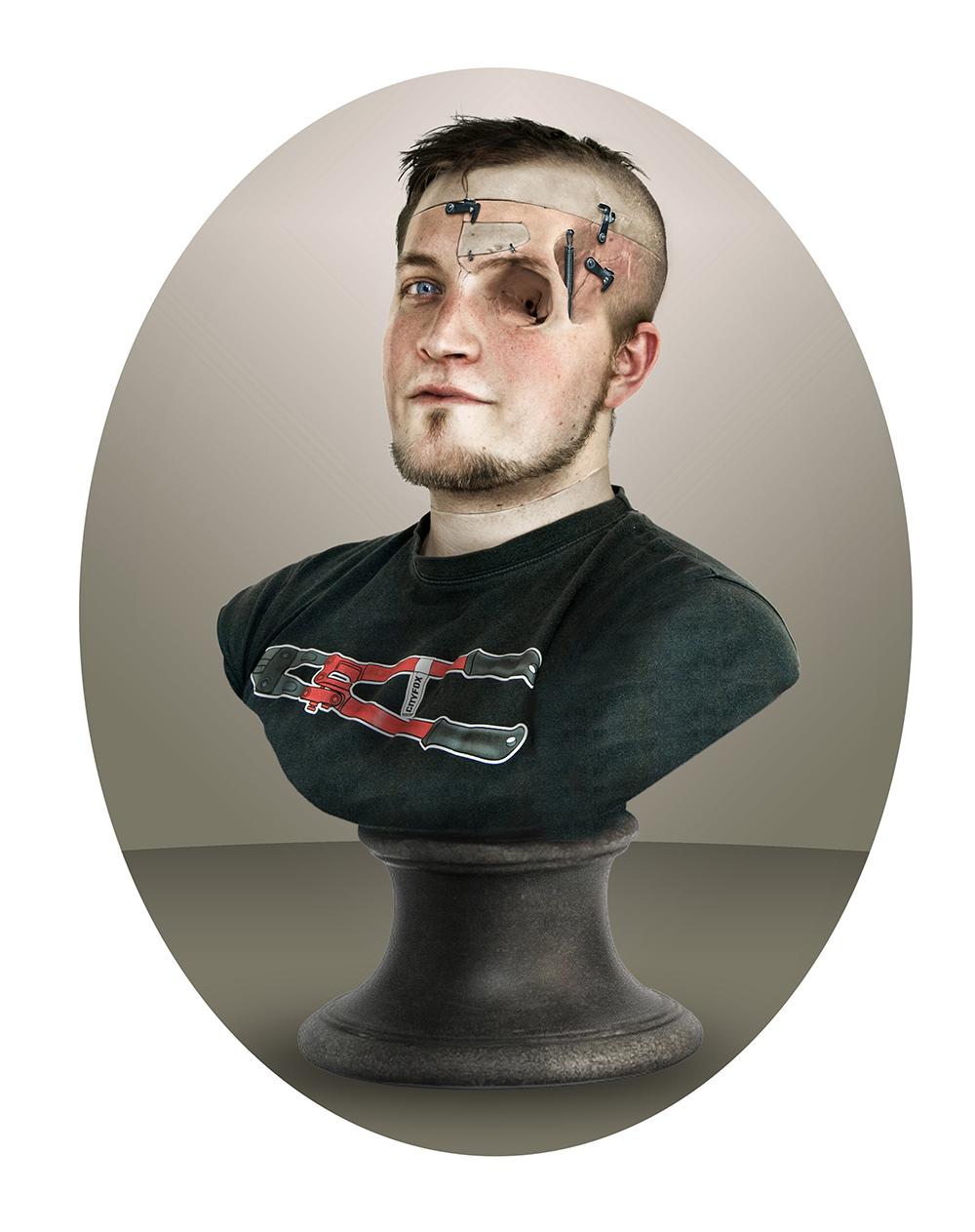 buste portrait serie 1
